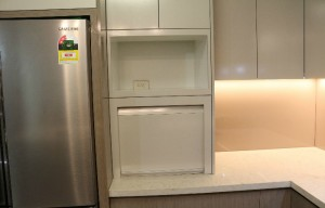 Kitchen-Microwave space